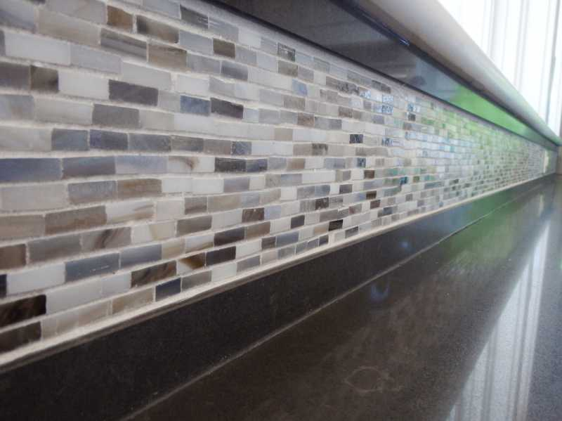 inspiring kitchens glass inlay into ceasarstone at the
