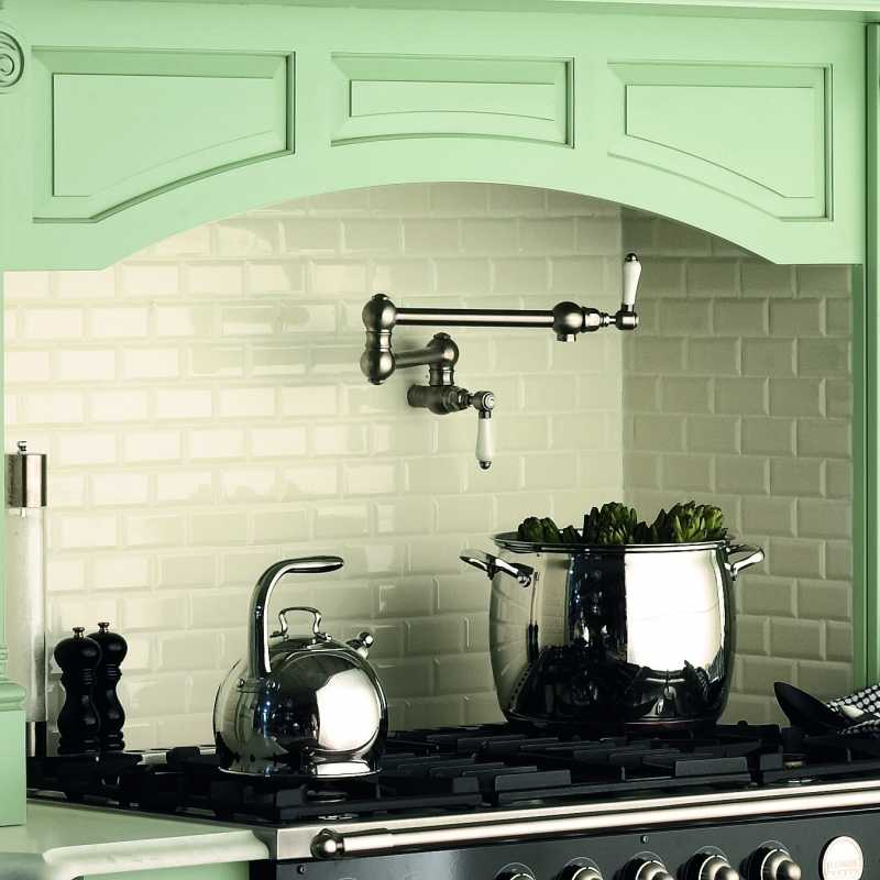 Tilery white bevel subway tile