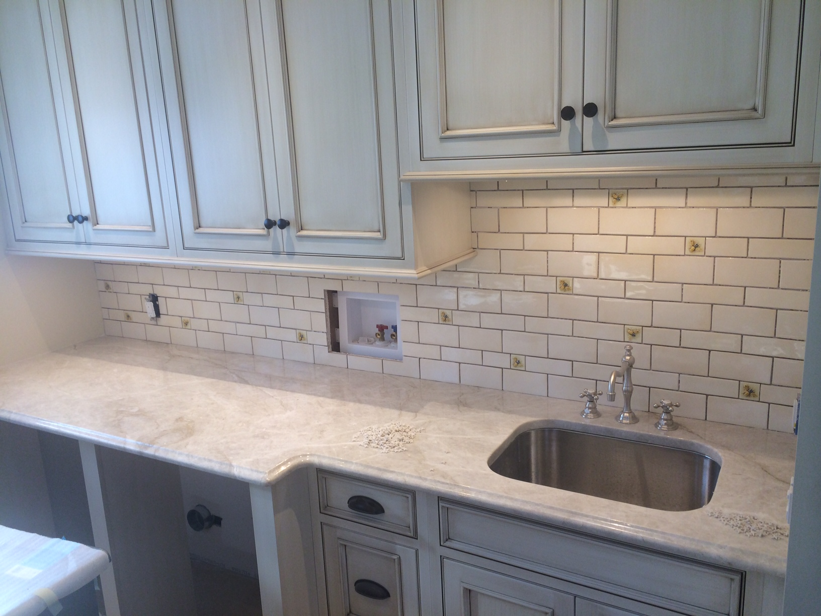 Inspiring Decorative Accents Pantry And Laundry Room Backsplash At The Tilery Your New England And Cape Cod Tile Experts