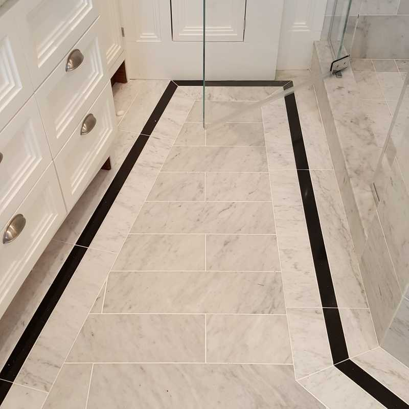 Tilery.carrar.marble.floor.tile.cape cod