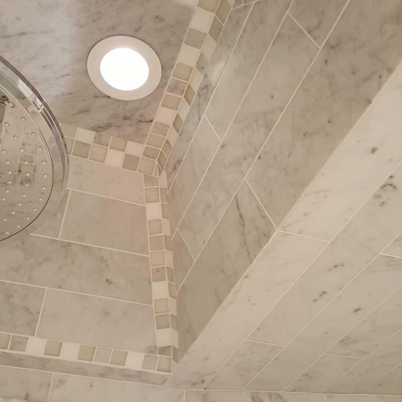 Tilery.bianco.carrara.showerceiling.detail.
