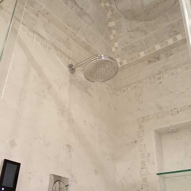 Tilery.capecod.carrara.shower.install.tileshower