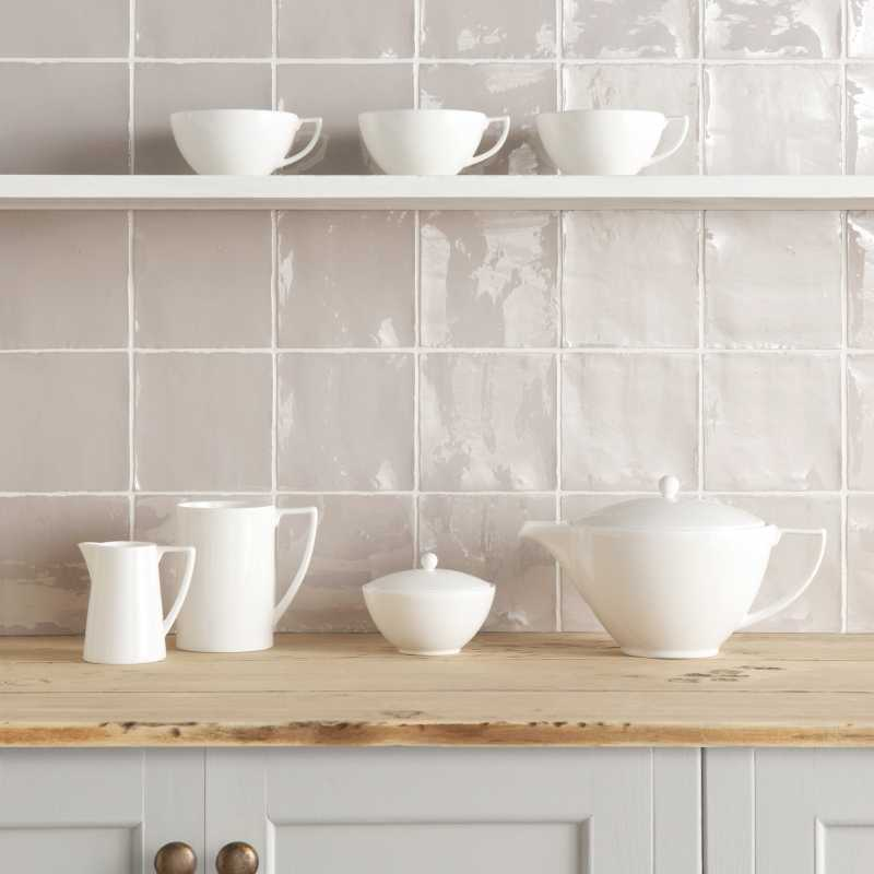 Grey Tile Backsplash.Tilery.Cape.Cod