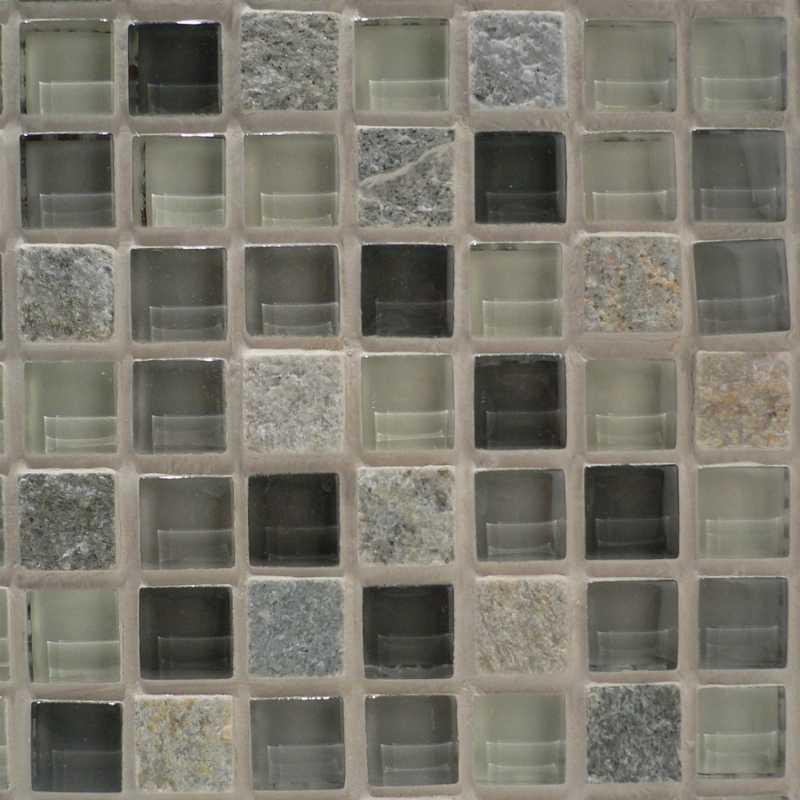 Bliss-silver-aspen tilery-glass-mosaic-slate