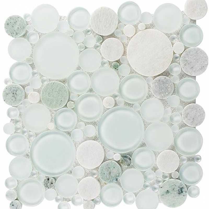 Tilery.moonstone.mosaic.glassbubbles.tile