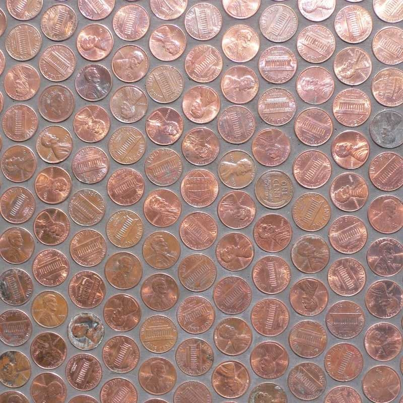 Pennies.thetilery.capecod.mosaic