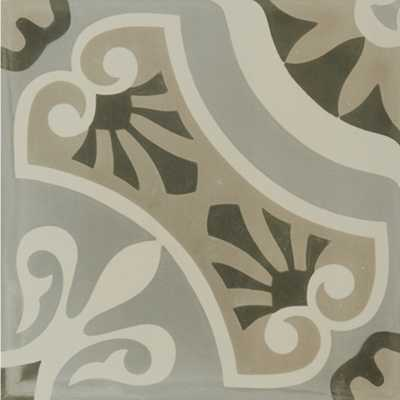 Tilery.hydraulic.grey.porcelain.decorative.tile.12x12