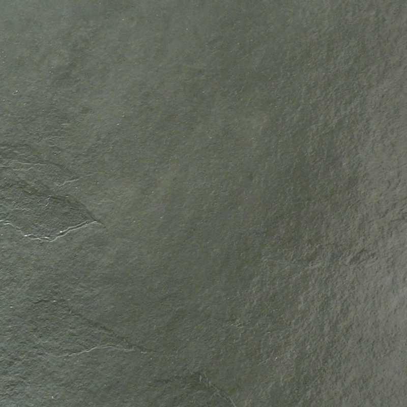 Green slate floor tile