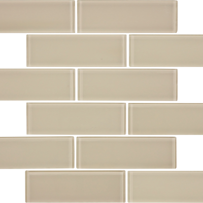 Earth Gloss Glass 2 x 6 Brick Tilery