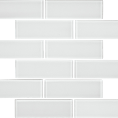 Ice Gloss Glass Brick 2 x 6 Tilery