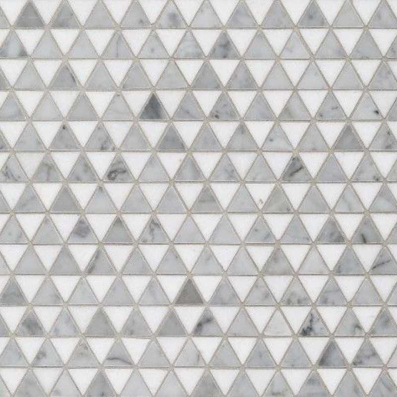 Light grey doge mosaic tilery