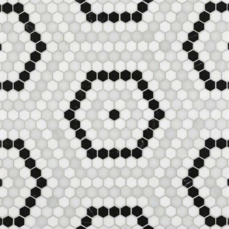 Riverside hex white tilery
