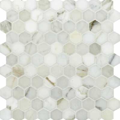 Tilery.calacattagold3cm.hexagon