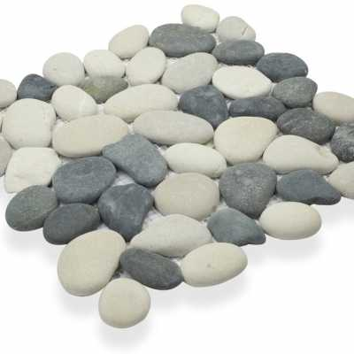 I3pa2-143 black and tan pebble tilery