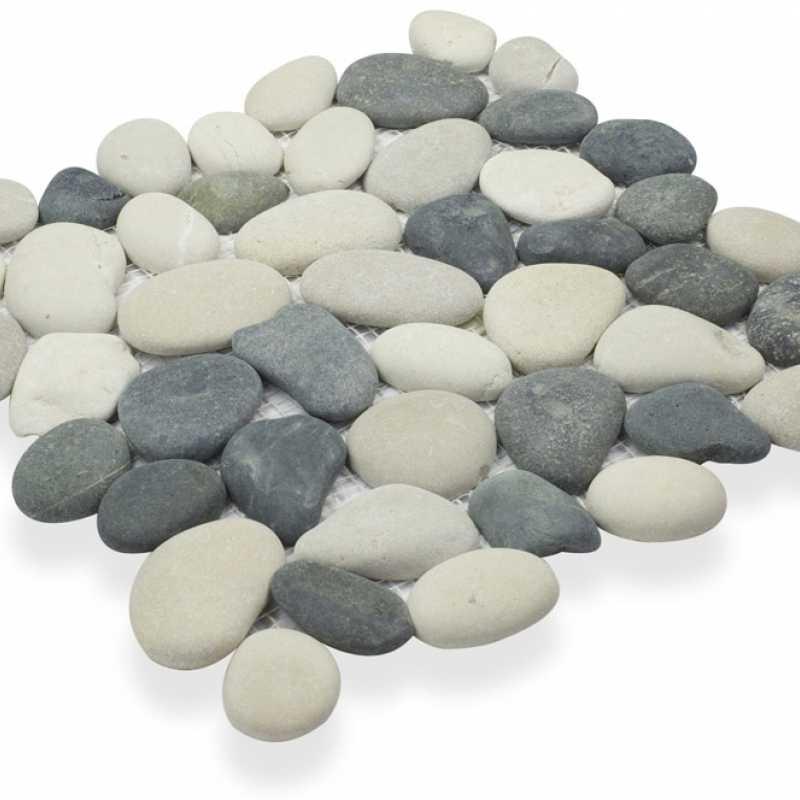 I3pa2-143 black and tan pebble tilery
