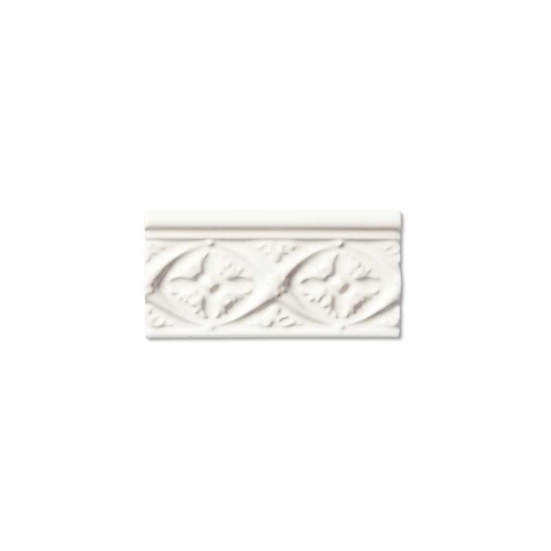 Neri white byzantine border 3x6 tilery
