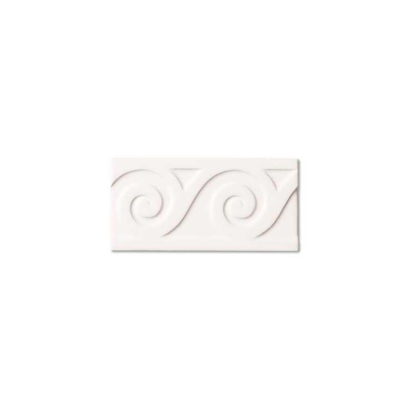 Neri white sea border 3x6 tilery
