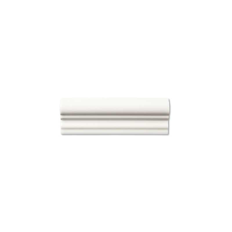 Neri white rail molding tilery