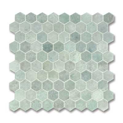 Hex ming green 3cm tilery