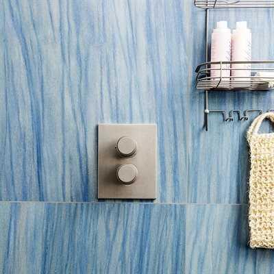 Tilery blue  macaubas porcelain glossy