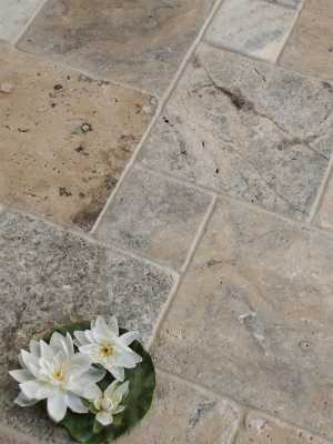 Tilery.antique.petwter.travertine.